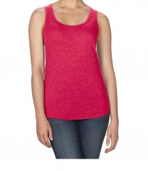 Image 11 of Anvil Ladies Tri-Blend Racer Back Tank
