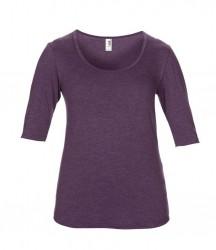 Image 9 of Anvil Ladies Tri-Blend 1/2 Sleeve T-Shirt