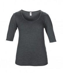 Image 8 of Anvil Ladies Tri-Blend 1/2 Sleeve T-Shirt