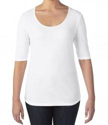 Image 11 of Anvil Ladies Tri-Blend 1/2 Sleeve T-Shirt