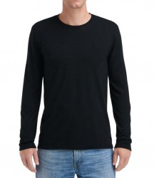 Image 5 of Anvil Long Sleeve Tri-Blend T-Shirt