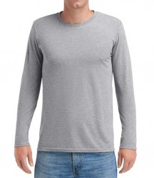 Image 6 of Anvil Long Sleeve Tri-Blend T-Shirt