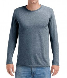 Image 3 of Anvil Long Sleeve Tri-Blend T-Shirt