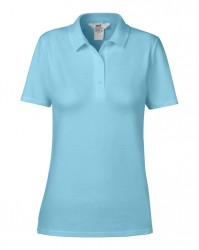 Image 5 of Anvil Ladies Cotton Double Piqué Polo Shirt