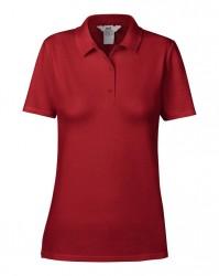 Image 4 of Anvil Ladies Cotton Double Piqué Polo Shirt