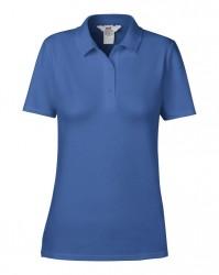 Image 3 of Anvil Ladies Cotton Double Piqué Polo Shirt