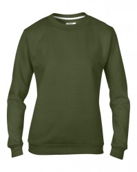 Image 7 of Anvil Ladies Crew Neck Sweatshirt