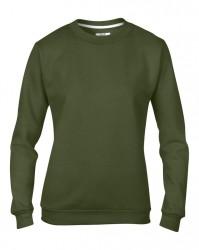 Image 11 of Anvil Ladies Crew Neck Sweatshirt