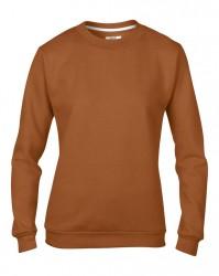 Image 6 of Anvil Ladies Crew Neck Sweatshirt