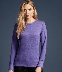 Anvil Ladies French Terry Drop Shoulder Sweatshirt image