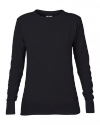 Image 8 of Anvil Ladies French Terry Drop Shoulder Sweatshirt
