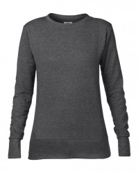 Image 6 of Anvil Ladies French Terry Drop Shoulder Sweatshirt