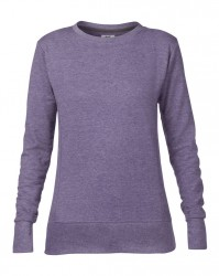 Image 3 of Anvil Ladies French Terry Drop Shoulder Sweatshirt