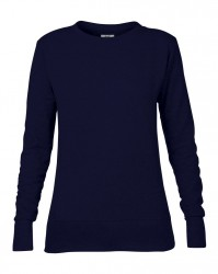 Image 2 of Anvil Ladies French Terry Drop Shoulder Sweatshirt