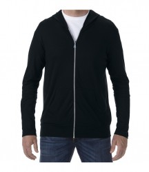 Anvil Tri-Blend Hooded Jacket image