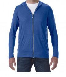 Image 9 of Anvil Tri-Blend Hooded Jacket