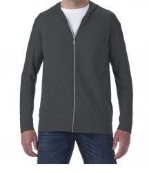 Image 7 of Anvil Tri-Blend Hooded Jacket