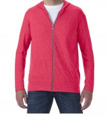 Image 5 of Anvil Tri-Blend Hooded Jacket