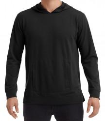 Image 2 of Anvil Unisex Light Terry Hooded Sweatshirt