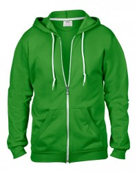 Image 9 of Anvil Fashion Full Zip Hooded Sweatshirt