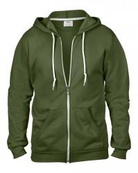Image 12 of Anvil Fashion Full Zip Hooded Sweatshirt