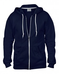 Image 7 of Anvil Fashion Full Zip Hooded Sweatshirt