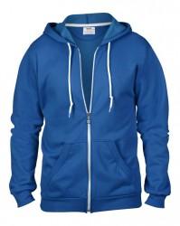 Image 3 of Anvil Fashion Full Zip Hooded Sweatshirt