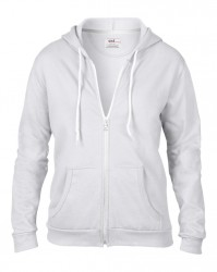 Image 12 of Anvil Ladies Fashion Full Zip Hooded Sweatshirt