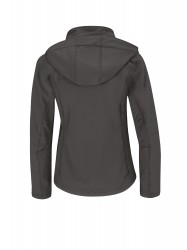 Image 4 of B&C Hooded softshell /women