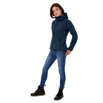 Image 1 of B&C Hooded softshell /women