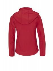 Image 2 of B&C Hooded softshell /women