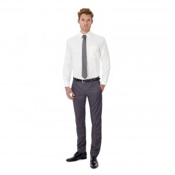 Image 1 of B&C Oxford long sleeve /men