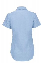 Image 3 of B&C Oxford short sleeve /women