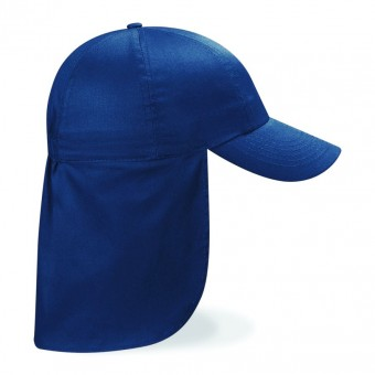 Image 6 of Beechfield Kids Legionnaire Style Cap
