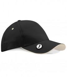 Image 2 of Beechfield Pro-Style Ball Mark Golf Cap