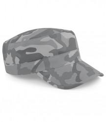 Image 2 of Beechfield Camo Army Cap