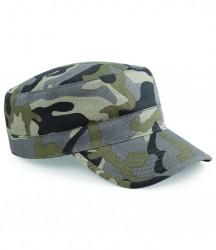 Image 3 of Beechfield Camo Army Cap