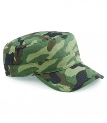 Image 4 of Beechfield Camo Army Cap