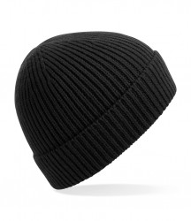 Image 9 of Beechfield Engineered Knit Ribbed Beanie