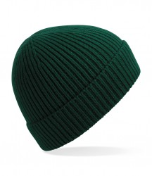 Image 8 of Beechfield Engineered Knit Ribbed Beanie