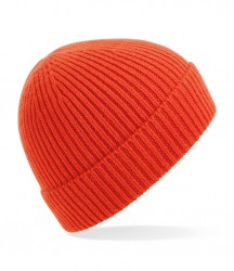 Image 12 of Beechfield Engineered Knit Ribbed Beanie