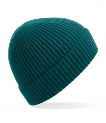 Image 3 of Beechfield Engineered Knit Ribbed Beanie