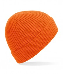 Image 2 of Beechfield Engineered Knit Ribbed Beanie