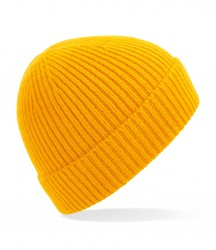 Image 4 of Beechfield Engineered Knit Ribbed Beanie