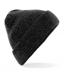 Image 2 of Beechfield Reflective Beanie