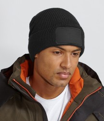 Image 1 of Beechfield Thinsulate™ Patch Beanie