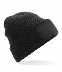 Image 2 of Beechfield Thinsulate™ Patch Beanie