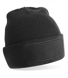 Image 2 of Beechfield Patch Beanie