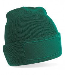 Image 3 of Beechfield Patch Beanie