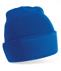 Image 4 of Beechfield Patch Beanie